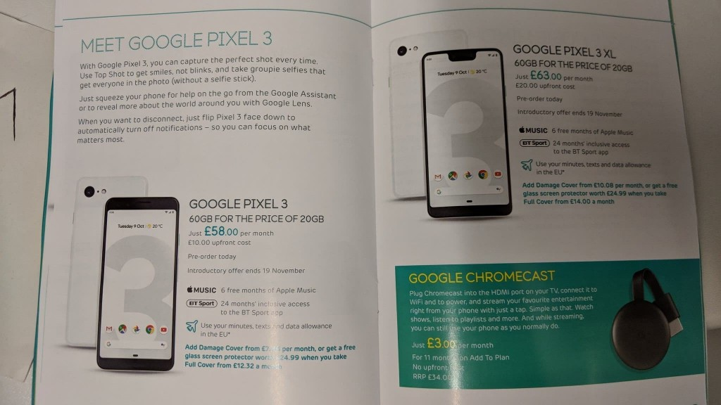 Google Pixel 3 and Pixel 3XL Full Review and Comparison
