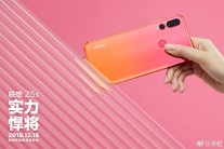 Lenovo Z5s Pink Orange gradient