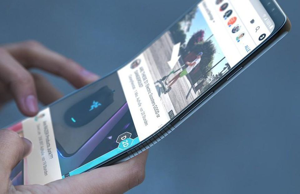 foldable Galaxy phone F